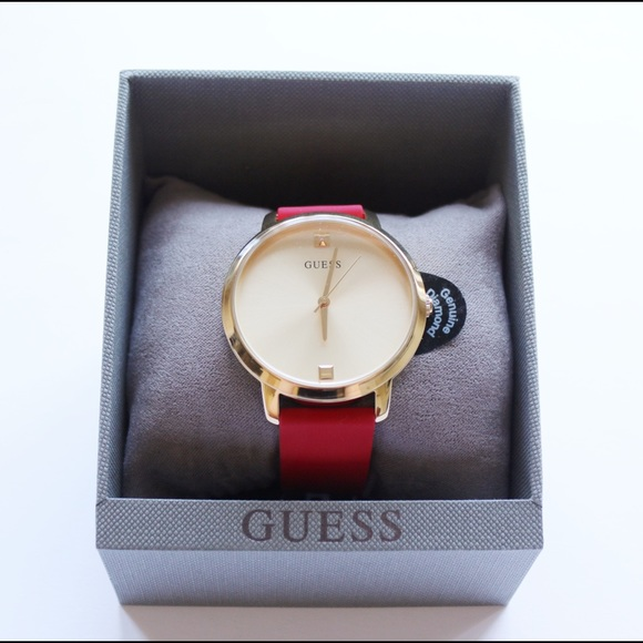 Guess Accessories - Red Guess Women's Watch (BRAND NEW)!